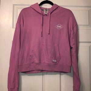PINK Victoria Secret Cropped Sweatshirt